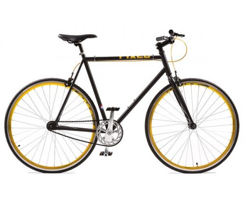 Avalon fixed gear Fixed matzwart goud 59 cm