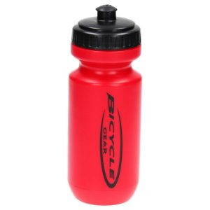 Bicycle Gear bidon 500 ml rood