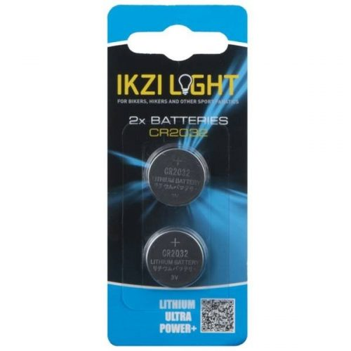 Ikzi Light Batterijen 3V CR2032 2 Stuks