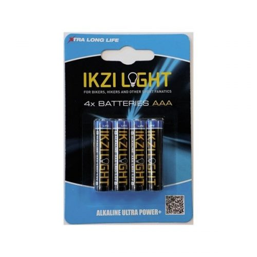 Ikzi Light Batterijen LR03 AAA 4 Stuks