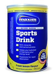 Hypotonic Sports Drink 480 gr