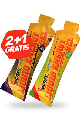 2+1 Gratis Liquid Energy Gel 55 ml
