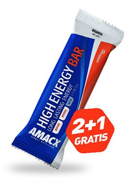 2+1 Gratis - High Energy Bar 50 gr