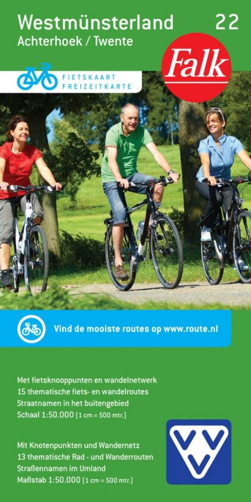 VVV Fietskaart 22. West-Münsterland
