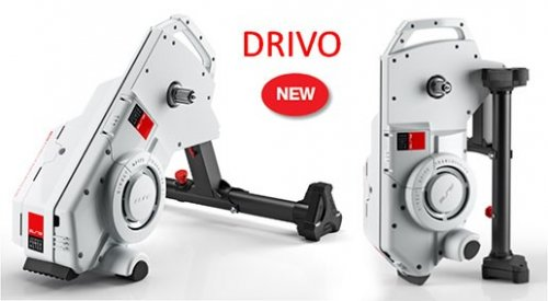Elite Fietstrainer Drivo Smart B+ Power Meter Interactief